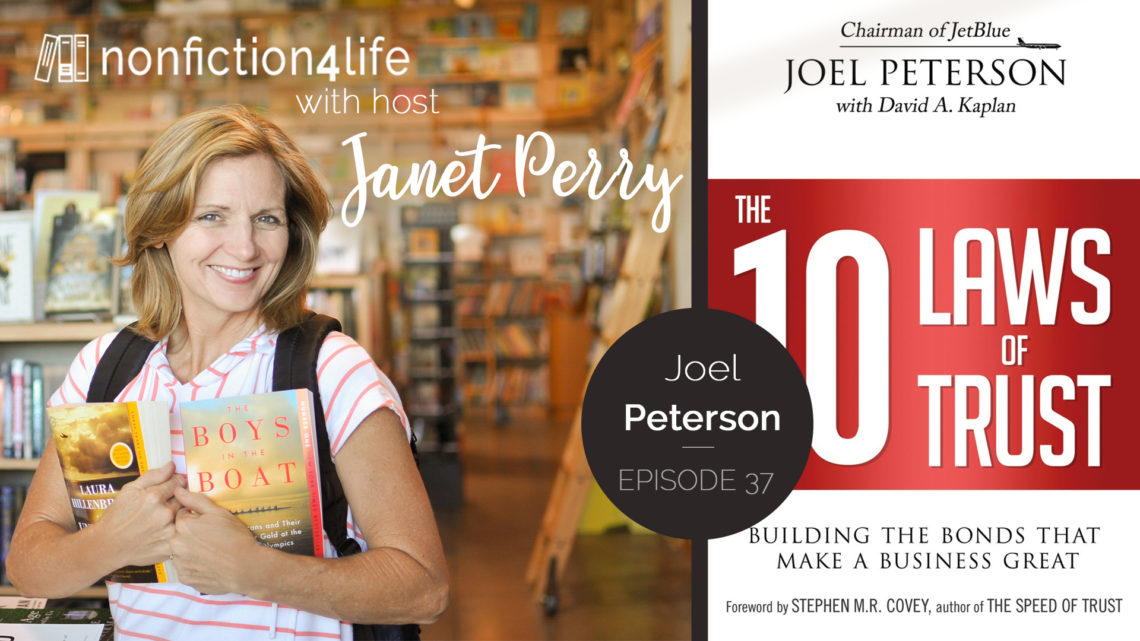 37 The 10 Laws Of Trust By Joel Peterson Nonfiction4life